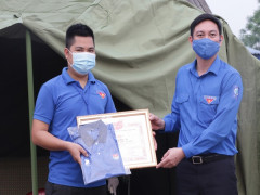Sức trẻ Quảng Ninh xung kích trên tuyến đầu chống dịch