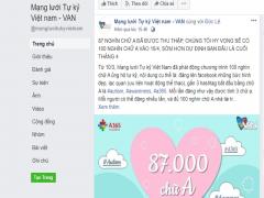 100.000 chữ A ủng hộ trẻ tự kỷ trên Facebook có ý nghĩa gì?