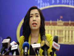 Việt Nam theo dõi sát các diễn biến ở Biển Đông