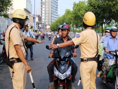 Lực lượng công an sẽ tăng cường xử phạt vi phạm giao thông trong thời điểm cách ly toàn xã hội