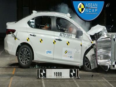 Honda City 2020 được công nhận là xe an toàn tại Đông Nam Á