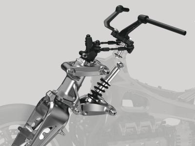 Honda Cub C125 sẽ sử dụng công nghệ giảm xóc giống Honda Gold Wing