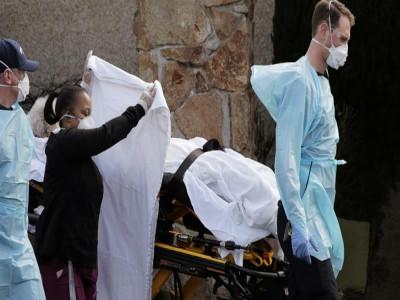 Gần 2.000 người chết do dịch Covid-19 trong 1 ngày ở Mỹ