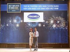 Vinamilk - thương hiệu nhà tuyển dụng hấp dẫn giới trẻ nhất Việt Nam