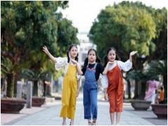 Ba mẫu nhí đáng yêu đất Hà thành