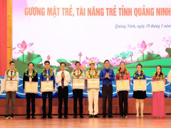 Quảng Ninh: tuyên dương gương mặt trẻ, tài năng trẻ, đảng viên trẻ tiêu biểu năm 2019