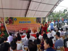 Gần 100 gian hàng tham gia phiên chợ quảng bá, tiêu thụ vải thiều Thanh Hà và Nông sản, Thực phẩm an toàn tại Hà Nội năm 2020