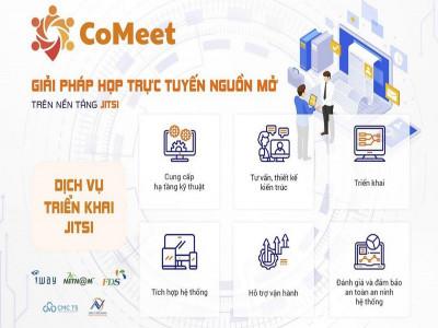 Ra mắt giải pháp hội nghị trực tuyến CoMeet