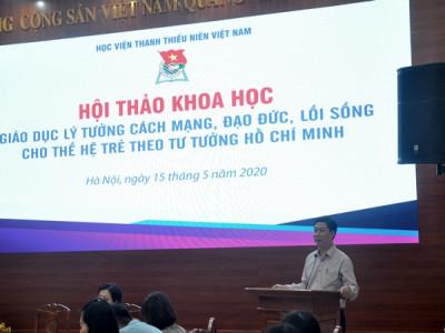Giáo dục lý tưởng cách mạng, đạo đức, lối sống cho thế hệ trẻ theo tư tưởng Hồ Chí Minh