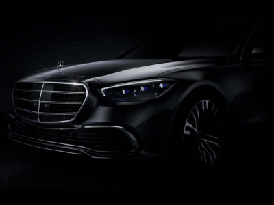 Mercedes-Benz tung ra hình ảnh chính thức đầu tiên của S-Class 2021