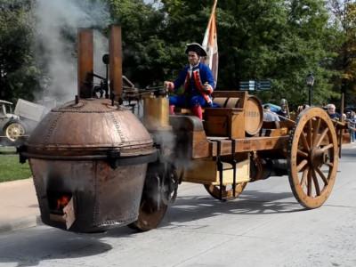 Chiếc xe ô tô đầu tiên trên thế giới đã ra đời cách đây hơn 250 năm và nó... lái tệ vô cùng