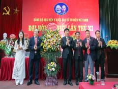 Đại hội đại biểu Đảng bộ Học viện Y Dược học cổ truyền Việt Nam diễn ra thành công tốt đẹp