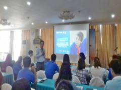 Hội nghị tập huấn giảng viên nguồn về chương trình