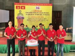 Các chi bộ thuộc Đảng bộ cơ quan Saigon Co.op và Co.opmart TPHCM tổ chức sinh hoạt chuyên đề tại Đền Hùng (quận 9)