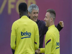 HLV Barca chưa biết Arthur bị bán