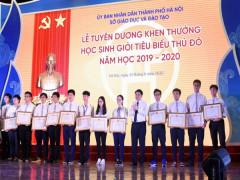 Hà Nội tuyên dương học sinh giỏi tiêu biểu năm học 2019 - 2020
