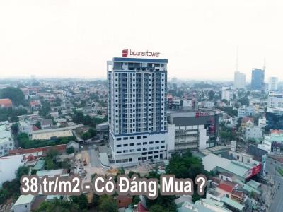Đánh giá dự án Biconsi Tower: Căn hộ 38 triệu/m2 tại trung tâm Thủ Dầu Một có đáng mua?