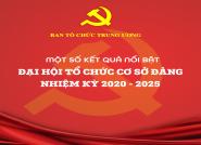 Một số kết quả nổi bật Đại hội tổ chức cơ sở Đảng nhiệm kỳ 2020 - 2025
