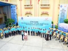Lễ ra quân hưởng ứng Ngày BHYT Việt Nam - Tuyên truyền, vận động người dân tham gia BHXH tự nguyện, BHYT hộ gia đình