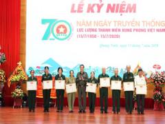 Quảng Ninh: Kỷ niệm 70 năm ngày truyền thống lực lượng thanh niên xung phong Việt Nam
