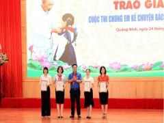 Quảng Ninh: trao giải Hội thi chúng em kể chuyện Bác Hồ năm 2020