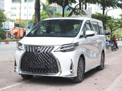 Cận cảnh MPV hạng sang Lexus LM 300h 2020 giá hơn 11 tỷ đồng tại Việt Nam