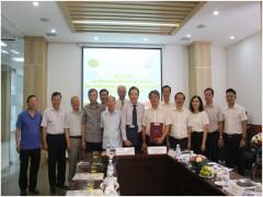 Ký kết Hợp tác đào tạo với Bệnh viện Hữu nghị Việt Đức