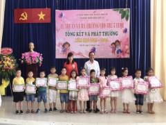 Trường Mầm non Sơn Ca, huyện Nhà Bè (TPHCM): Nơi nuôi dưỡng và phát triển nhân cách trẻ thơ