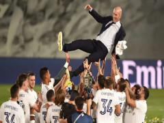HLV Zidane nói gì khi Real Madrid vô địch La Liga 2019/2020?