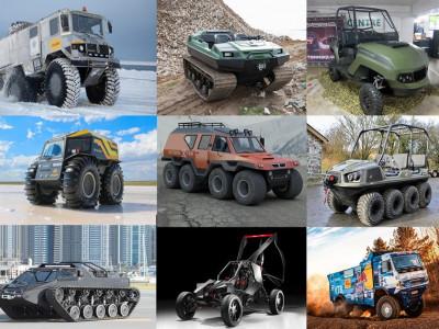 Điểm danh 9 mẫu xe chinh phục địa hình phi thường nhất trên hành tinh