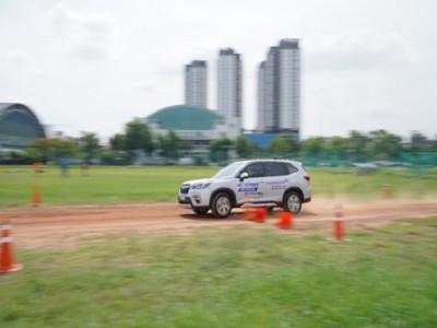 """Thử thách """"phá xe"""" cùng Subaru Ultimate Test Drive 2020, bạn có dám thử?"""