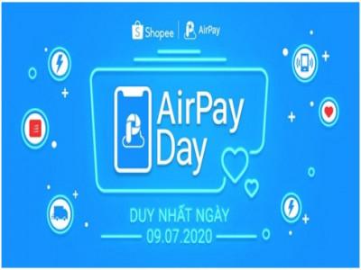Ngày hội AirPay Day khuấy đảo Shopee với ưu đãi giảm đến 100K  cho người dùng mới