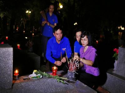 Quảng Ninh: thắp nến tri ân các anh hùng Liệt sĩ năm 2020