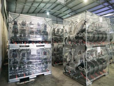 Xe điện Pega chính thức xuất khẩu sang thị trường Cu Ba