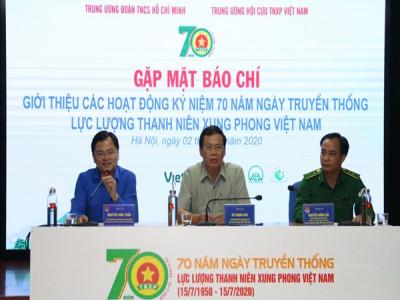 Các hoạt động Kỷ niệm 70 năm Ngày truyền thống  Lực lượng thanh niên xung phong Việt Nam (15/7/1950 – 15/7/2020)