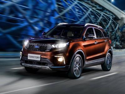 Ford Territory 2020 - SUV cỡ C mới chuẩn bị ra mắt Đông Nam Á, đối đầu Honda CR-V và Mazda CX-5