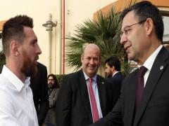 Barca từ chối thương thảo với Messi