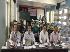 Trường Trung cấp Nguyễn Hữu Cảnh (quận 7) tổ chức đánh giá học viên của Dự án Aus4skills