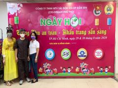 Co.opmart Phú Thọ (quận 11) tổ chức hoạt động chào mừng Đại hội Đảng bộ Saigon Co.op