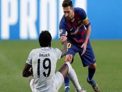 Messi từ chối đổi áo với cầu thủ Bayern