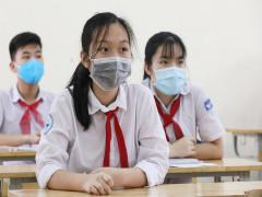 Học sinh Hà Nội phải đeo khẩu trang trong lớp