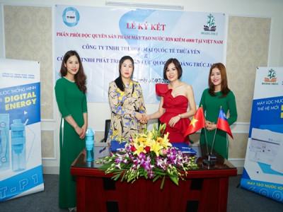 Máy tạo ion kiềm thế hệ mới sắp ra mắt tại Việt Nam