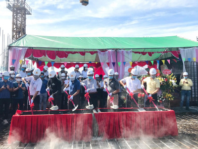 Apec Group cất nóc dự án căn hộ 5 sao tại TP. Hải Dương