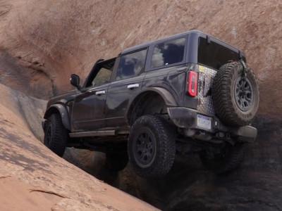 Chứng kiến khả năng off-road cực đỉnh của Ford Bronco 2021