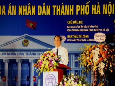Khởi công xây dựng Trụ sở Toàn án nhân dân thành phố Hà Nội