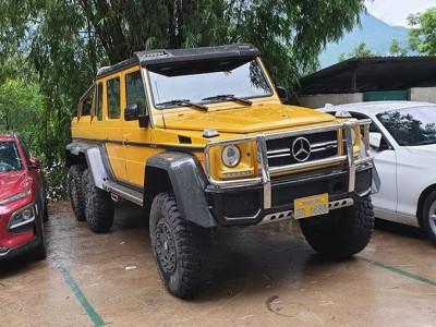 Hàng độc Mercedes-Benz G63 AMG 6x6 du lịch tận Hoà Bình