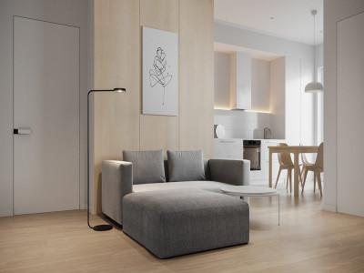 Mẫu căn hộ nhỏ xinh dành cho những người theo chủ nghĩa tối giản