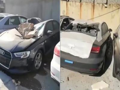 Đại lý Audi hoang tàn sau vụ nổ kinh hoàng tại Li Băng, 500 chiếc xe sang bị hư hỏng