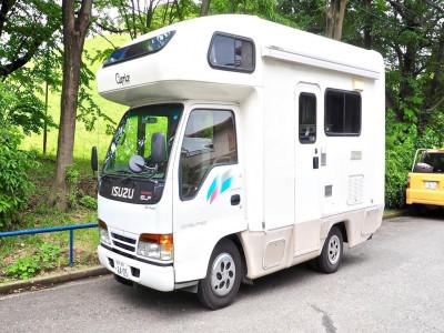 Isuzu Elf 1995 - Chiếc xe van cắm trại đáng yêu mà tiện nghi bất ngờ của người Nhật