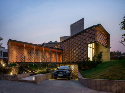 Ngôi nhà với thiết kế lấy cảm hứng từ tổ ong